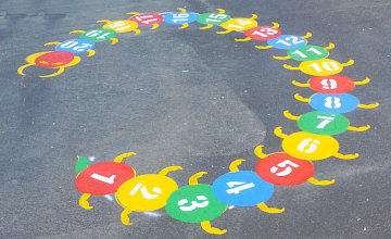 Pre-School Playground Linemarking