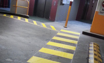 Sydney CBD Car Park Linemarking