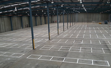 Warehouse Linemarking Chullora